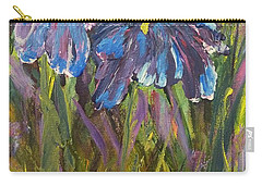 Iris Floral Garden Carry-all Pouch