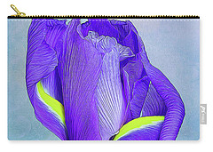 Iris Flower Carry-all Pouch by Tom Mc Nemar