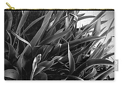 Iris Foliage Bw Carry-all Pouch