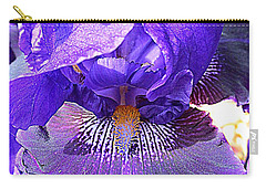 Iris Garden 16 Carry-all Pouch by Randall Weidner