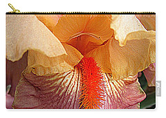Iris Garden 19 Carry-all Pouch by Randall Weidner