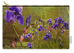 Iris Garden Carry-all Pouch by Jeff Burgess