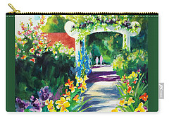 Iris Garden Walkway   Carry-all Pouch