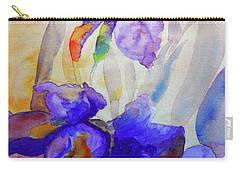 Iris Carry-all Pouch by Jasna Dragun