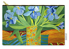 Iris Carry-all Pouch by Jennifer Abbot