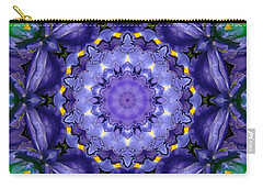 Iris Kaleidoscope Carry-all Pouch