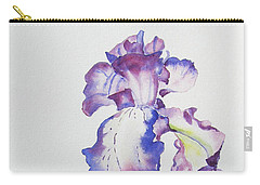 Iris Passion Carry-all Pouch