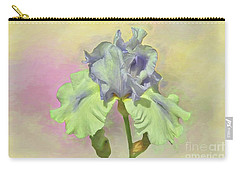 Iris Pastels Carry-all Pouch by Suzanne Handel
