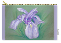 Iris Purple Carry-all Pouch