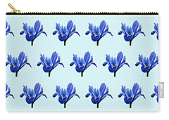 Carry-all Pouch featuring the photograph Iris Recticulata-2 by Paul Gulliver
