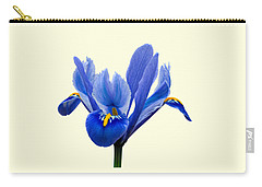 Iris Recticulata Transparent Background Carry-all Pouch
