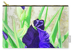 Iris Royalty Carry-all Pouch