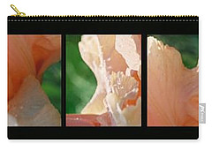 Carry-all Pouch featuring the photograph Iris by Steve Karol