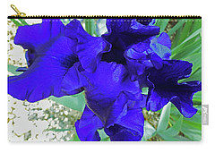 Irises 3 Carry-all Pouch