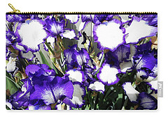 Irises 8 Carry-all Pouch
