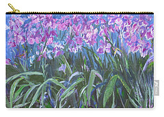 Irises En Mass Carry-all Pouch