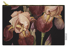 Irises Carry-all Pouch by Jenny Barron