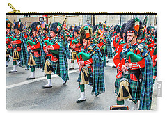 St. Patrick Day Parade In New York Carry-all Pouch