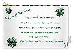 Irish Blessing 2 Carry-all Pouch