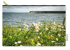 Irish Flower Impression Carry-all Pouch by Juergen Klust