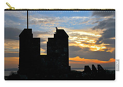 Irish Sunset Over Ramparts 1 Carry-all Pouch