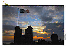 Irish Sunset Over Ramparts 2 Carry-all Pouch