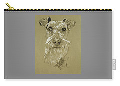 Irish Terrier Carry-all Pouch by Barbara Keith