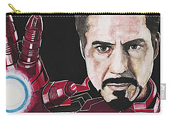 Iron Man Carry-all Pouch by Edwin Alverio