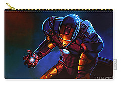 Man Paintings Carry-All Pouches
