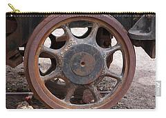 Iron Train Wheel Carry-all Pouch by Aidan Moran