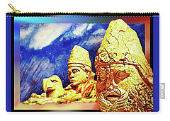 Carry-all Pouch featuring the painting Irreplaceable   Ancient  Glory by Hartmut Jager