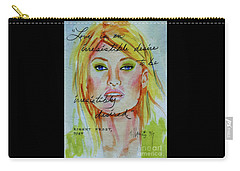 Carry-all Pouch featuring the painting Irresistible by P J Lewis