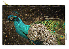 Carry-all Pouch featuring the photograph Is She Looking ? by Jean Noren