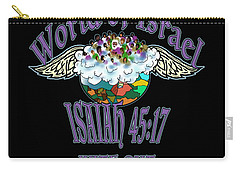 Isaiah 45 Verse 17 Carry-all Pouch