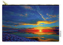 Carry-all Pouch featuring the photograph Isand Sunset by Norman Hall