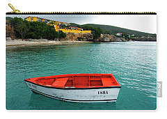 Carry-all Pouch featuring the photograph Isha by Kurt Van Wagner