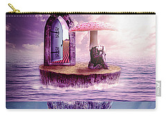 Carry-all Pouch featuring the digital art Island Dreaming by Nathan Wright