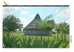 Island Hut And Scenery Carry-all Pouch