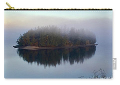 Island In The Autumn Mist Carry-all Pouch