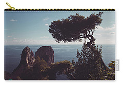 Island Of Capri - Italy Carry-all Pouch by Cesare Bargiggia