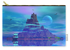 Island Of Lost Souls Carry-all Pouch by Mark Blauhoefer
