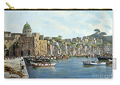 Island Of Procida - Italy- Harbor With Boats Carry-all Pouch