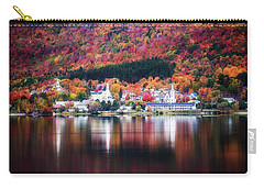 Island Pond Vermont Carry-all Pouch by Sherman Perry