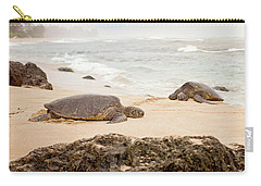 Carry-all Pouch featuring the photograph Island Rest by Heather Applegate