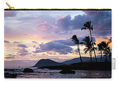 Carry-all Pouch featuring the photograph Island Silhouettes  by Heather Applegate