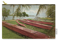 Island Sketches Carry-all Pouch by Scott Cameron