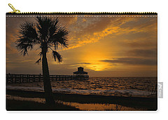 Island Sunrise Carry-all Pouch by Judy Vincent