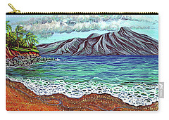 Island Time Carry-all Pouch by Debbie Chamberlin