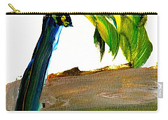 Island Time Signed Print Carry-all Pouch