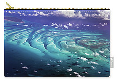 Carry-all Pouch featuring the photograph Island Under The Sea by Louise Lindsay